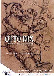 OTTO DIX, JE VOUS ÉCRIS DU FRONT