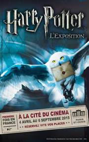 HARRY POTTER, L'EXPOSITION