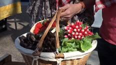 Panier au marché
