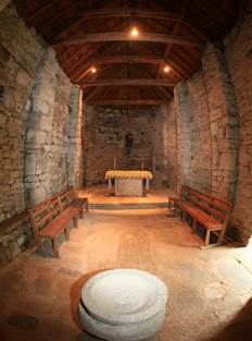 Eglise de Bernet Intérieur