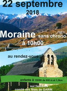 Moraine sans chrono