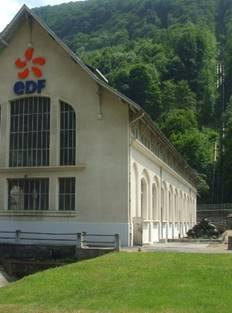 Visite de la centrale hydroéctrique EDF