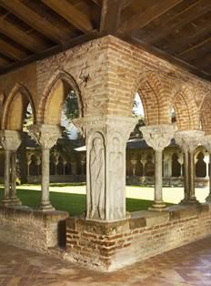 Cloître de l'abbaye Saint-Pierre