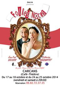 """Café Théâtre """"Folles noces"""""""