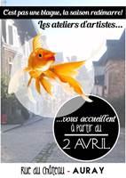Exposition dans les ateliers d'artistes de la rue du Château - Auray