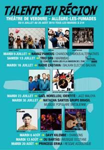 Le festival talents en région ?