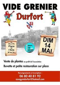 Vide grenier de l'Association GYM Durfort