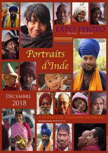 Exposition Photo : Portraits d'inde