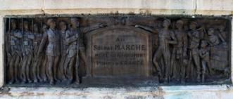 Monument aux morts de la cité des Brebis