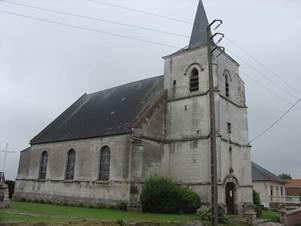 Eglise de Gouy-Servins