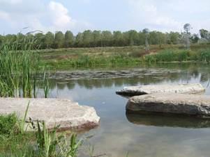 harnes - grands espaces et patrimoine - le lagunage de harnes