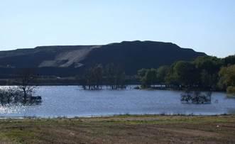 Noyelles-sous-Lens - grands espaces et patrimoine naturel - les terrils lavoir de fouquières