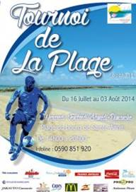 Photo : TOURNOI DE LA PLAGE DE SAINTE ANNE