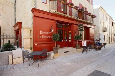 La Parenthèse restaurant de l'Hostellerie Provençale