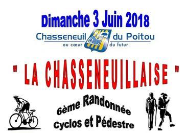 """Randonnée """"La Chasseneuillaise"""" à Chasseneuil-du-Poitou"""