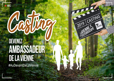 Casting ambassadeurs #AuDevantDeLaVienne
