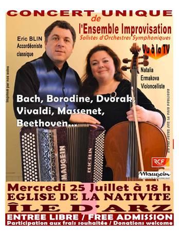 Concert Musique classique à l'Ile d'Arz