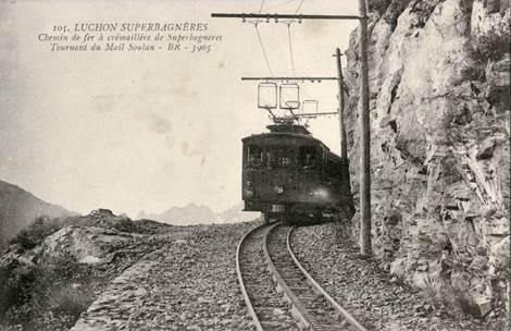 Train à Crémaillère Luchon-Superbagnères