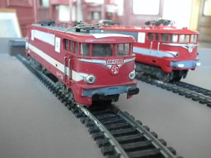 Motrices Train à Crémaillère