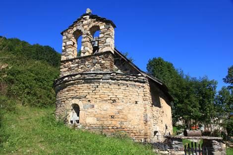 Eglise de Bernet Extérieur face