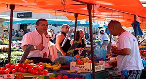 Le marché place Dalton