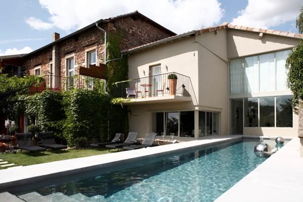Auberge du Paradis - la piscine
