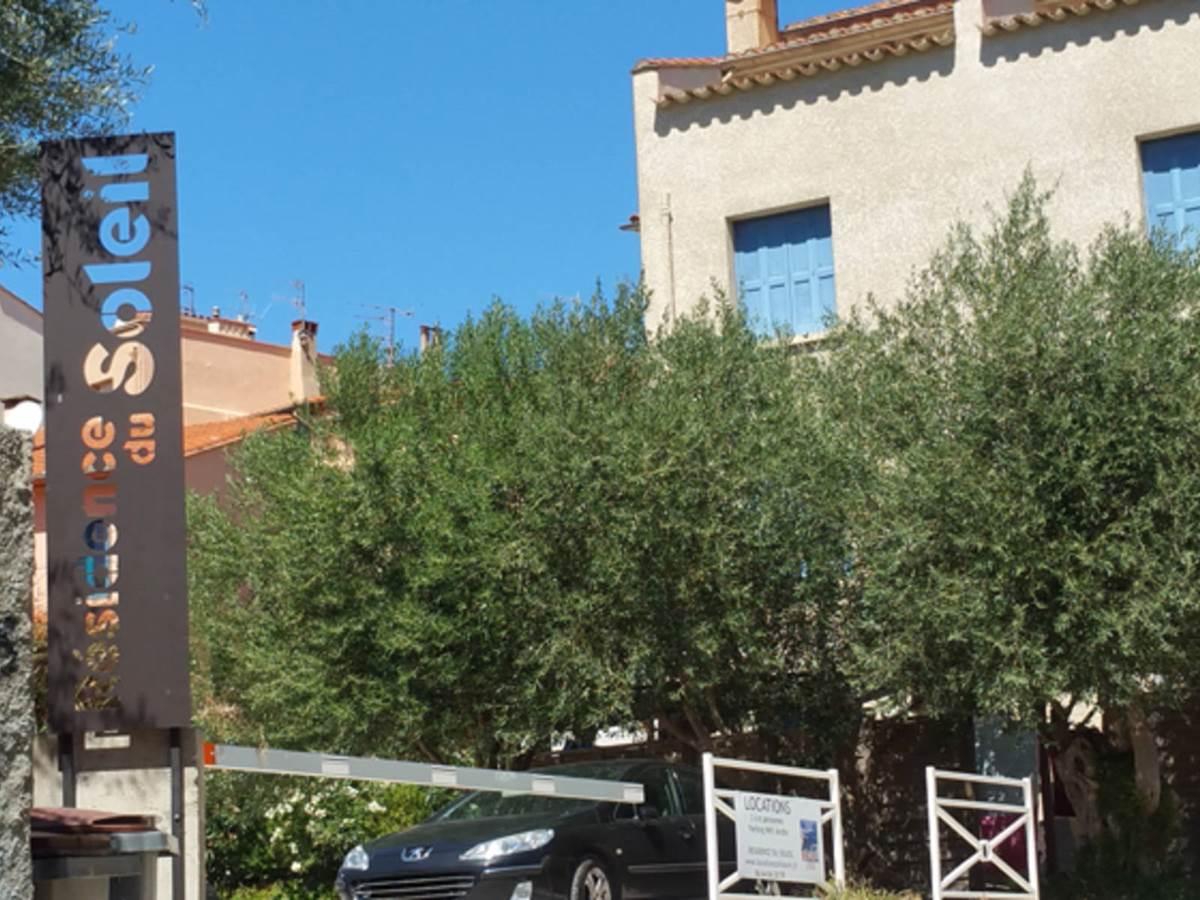 Location Collioure- Location Vacance Maraval- Parking