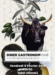 Dîner gastronomique autour des 4 Sites Remarquables du Goût chez Vatel