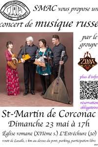Concert de musique russe - Corconac