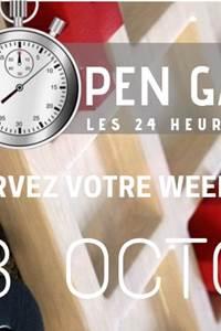 Open Games - les 24h du jeu
