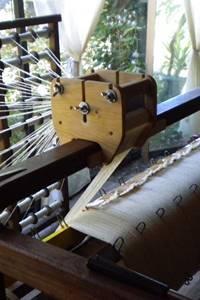 Atelier ouvert : Tissage et filage avec Monette Mornet
