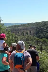 Balade insolite - A la découverte du Pont du Gard