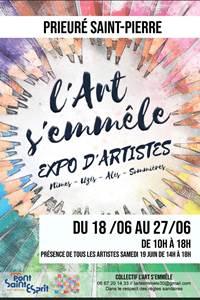 L'art s'emmêle - expo d'artistes