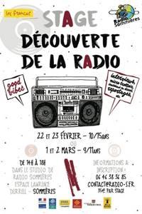 Stage découverte de la radio