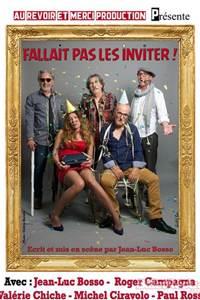 """Théâtre """"Fallait pas les inviter"""""""