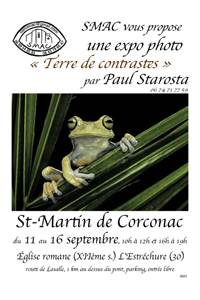 SMAC expose Terre de contrastes de Paul Starosta