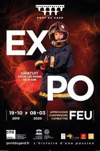 Expo Feu au Pont du Gard