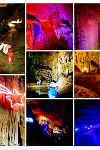 Grotte de Trabuc - La magie des lumières de Noël
