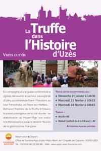 La Truffe dans l'Histoire d'Uzès - Visite guidée