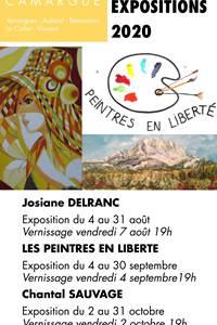 Expositions Peintres en Liberté - Gallician