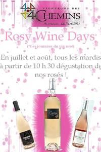 Rosy Wine day