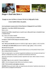 """Stage """"Eveil et sens"""""""