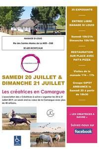 Les créatrices en Camargue