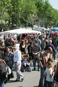 Vide-greniers de printemps de Villeneuve lez Avignon
