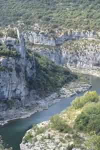 Les gorges de l'Ardèche intimes, la boucle du Louby