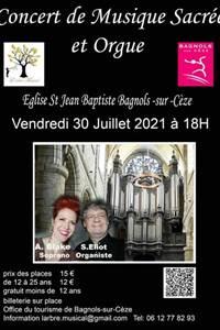 Concert de Musique Sacrée et orgue