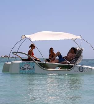 Blue Pearl Nouméa - location de pédalos