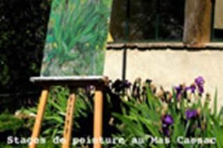 Peinture au Mas Cassac
