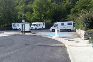 Aire de Services et Repos à Valleraugue
