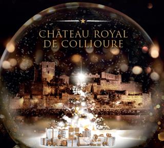 Cour de Noël au Château Royal
